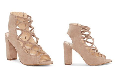 VINCE CAMUTO Women's Stesha Caged Suede Block Heel Sandals - Bloomingdale's_2