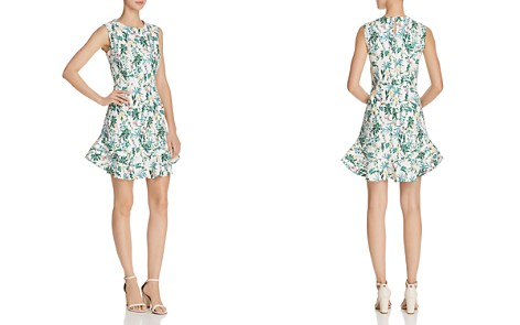 AQUA Botanical Flounce-Hem Dress - 100% Exclusive - Bloomingdale's_2