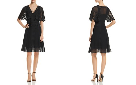 Kobi Halperin Giovanna Lace-Trim Dress - Bloomingdale's_2
