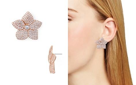 kate spade new york Pavé Bloom Statement Earrings - Bloomingdale's_2