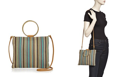 Thacker Le Pouch Khaki Stripe Crossbody - Bloomingdale's_2