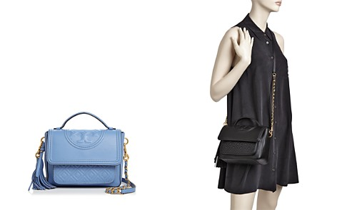 Tory Burch Fleming Leather Satchel - Bloomingdale's_2