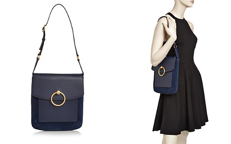 Tory Burch Farrah Leather & Suede Shoulder Bag - Bloomingdale's_2