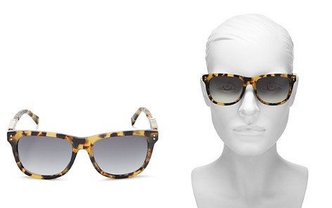 Moschino Women's 003 Rectangle Sunglasses, 53mm - Bloomingdale's_2