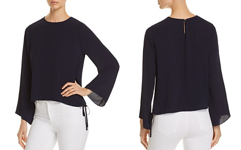 VINCE CAMUTO Side Drawstring Bell-Sleeve Top - 100% Exclusive - Bloomingdale's_2