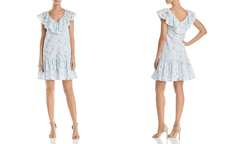 Rebecca Taylor Adriana Ruffled Eyelet Lace Dress - Bloomingdale's_2