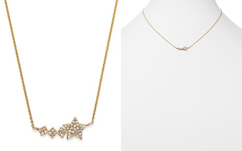 Moon & Meadow Diamond Shooting Star Pendant Necklace in 14K Yellow Gold, 0.11 ct. t.w. - 100% Exclusive - Bloomingdale's_2