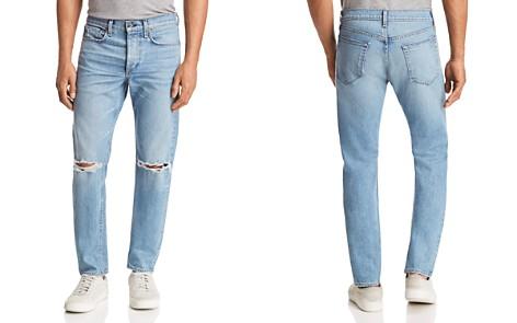 rag & bone Fit 1 Super Skinny Fit Jeans in Pylle with Holes - Bloomingdale's_2