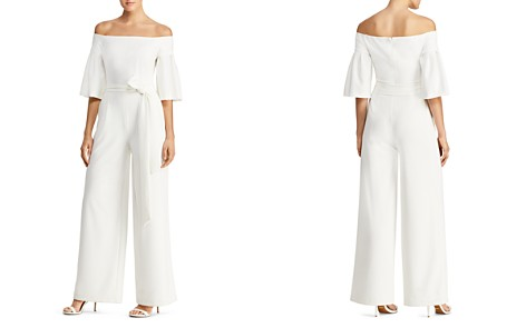 Lauren Ralph Lauren Off-the-Shoulder Wide-Leg Jumpsuit - Bloomingdale's_2