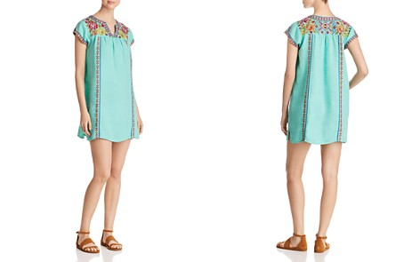 Johnny Was Vella Embroidered Linen Peasant Dress - Bloomingdale's_2