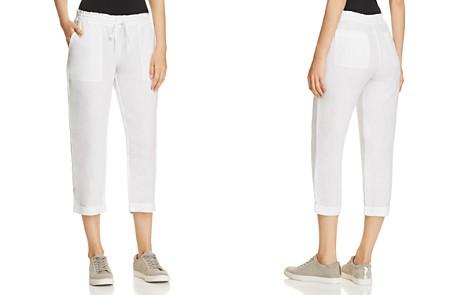 Three Dots Linen Crop Pants - Bloomingdale's_2