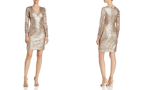 Tadashi Shoji Sequined Sheath Dress - Bloomingdale's_2