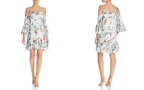 Elan Botanical-Print Cold-Shoulder Dress - Bloomingdale's_2