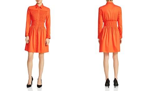 Maje Roumpa Smocked Shirt Dress - Bloomingdale's_2