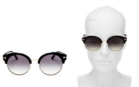 Tom Ford Women's Allissa Round Sunglasses, 54mm - Bloomingdale's_2