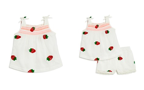 Design History Girls' Strawberry-Embroidered Top - Little Kid - Bloomingdale's_2
