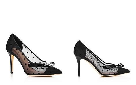 kate spade new york Women's Lasalle Mesh Polka Dot High-Heel Pumps - Bloomingdale's_2