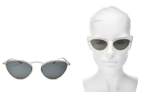 Oliver Peoples Lelaina Cat Eye Sunglasses, 56mm - Bloomingdale's_2