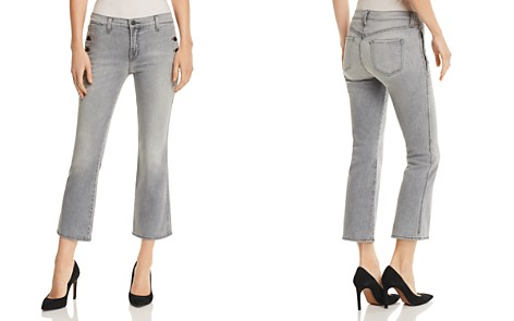 J Brand Zion Mid Rise Crop Bootcut Jeans in Resonance - Bloomingdale's_2