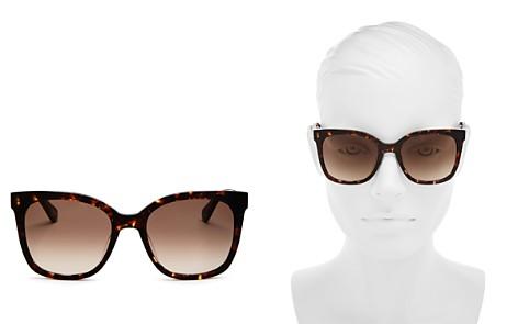kate spade new york Women's Kiya Square Sunglasses, 53mm - Bloomingdale's_2