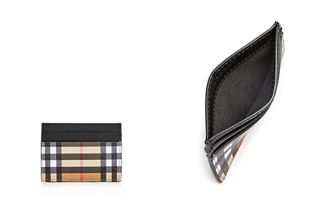 Burberry Vintage Check & Leather Card Case - Bloomingdale's_2