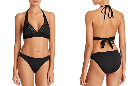Robin Piccone Perla Halter Bikini Top & Perla Bikini Bottom - Bloomingdale's_2