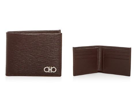 Salvatore Ferragamo New Revival Embossed Leather Bi-Fold Wallet - Bloomingdale's_2