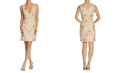 Dress the Population Cody Floral-Embroidered Sheath Dress - Bloomingdale's_2