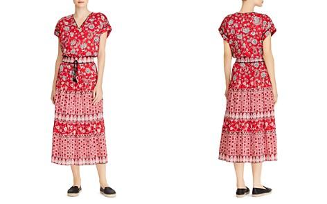 Lauren Ralph Lauren Printed Cotton V-Neck Dress - Bloomingdale's_2