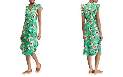 Lauren Ralph Lauren Ruffle-Trim Floral-Print Dress - Bloomingdale's_2