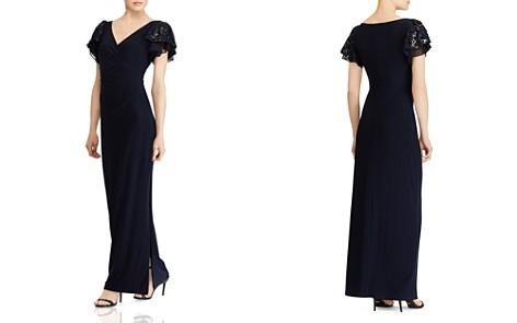 Lauren Ralph Lauren Embellished Jersey Gown - Bloomingdale's_2