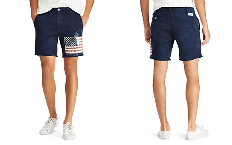 Polo Ralph Lauren Straight Fit Flag Shorts - Bloomingdale's_2