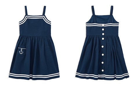 Polo Ralph Lauren Girls' Seersucker Anchor Dress - Little Kid - Bloomingdale's_2