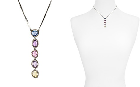 "Ela Rae Multicolored Sapphire & Diamond Pave Necklace, 15"" - Bloomingdale's_2"