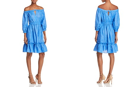 MILLY Amanda Off-the-Shoulder Dress - Bloomingdale's_2