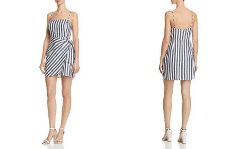 AQUA Striped Faux-Wrap Dress - 100% Exclusive - Bloomingdale's_2