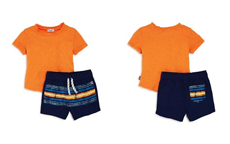 Splendid Boys' Distressed Tee & Striped Shorts Set - Baby - Bloomingdale's_2
