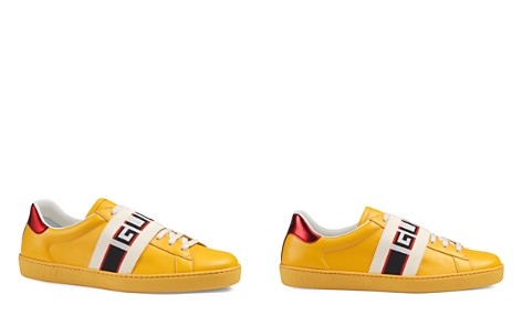 Gucci Men's Stripe Leather Sneakers - Bloomingdale's_2