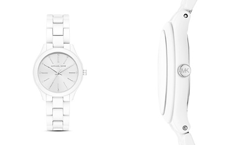 Michael Kors Mini Slim Runway Watch, 34mm x 38mm - Bloomingdale's_2