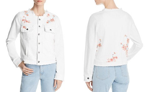Billy T Embroidered Denim Jacket - Bloomingdale's_2
