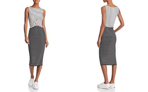 Bailey 44 Rabbit Hole Twist-Front Striped Dress - Bloomingdale's_2