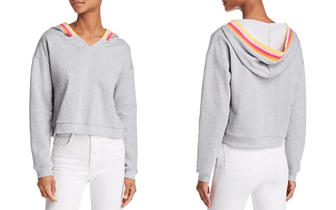 Honey Punch Rainbow-Stripe Hooded Sweatshirt - Bloomingdale's_2
