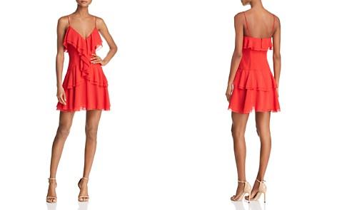 C/MEO Collective Elude Ruffle Mini Dress - Bloomingdale's_2
