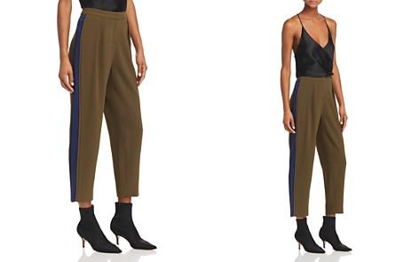 Ramy Brook Carey Silk-Trim Pants - Bloomingdale's_2