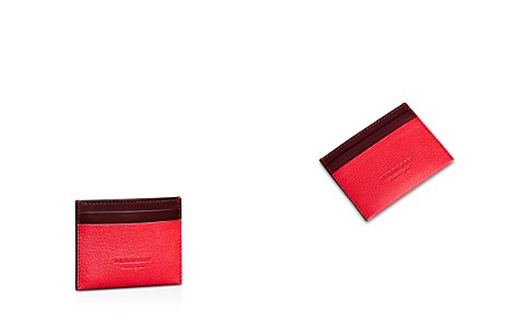 Burberry Sandon Two-Tone Leather Card Case - Bloomingdale's_2
