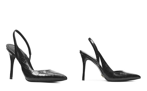 a3e2d945c1f MICHAEL Michael Kors Women s Eliza Croc-Embossed Leather Slingback Pumps -  Bloomingdale s 2