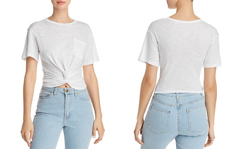 Olivaceous Twist-Front Tee - 100% Exclusive - Bloomingdale's_2