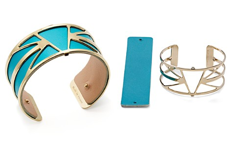 Les Georgettes Ibiza Reversible Medium Two-Tone Open Cuff Bracelet - Bloomingdale's_2