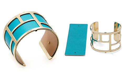 Les Georgettes Labyrinthe Reversible Wide Two-Tone Open Cuff Bracelet - Bloomingdale's_2