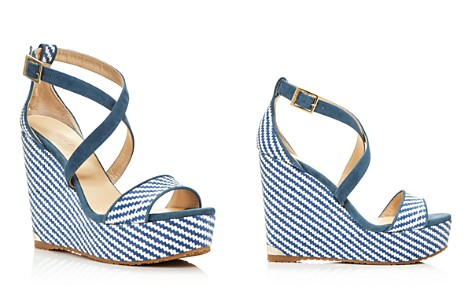 Jimmy Choo Women's Portia 120 Striped Platform Wedge Sandals - Bloomingdale's_2